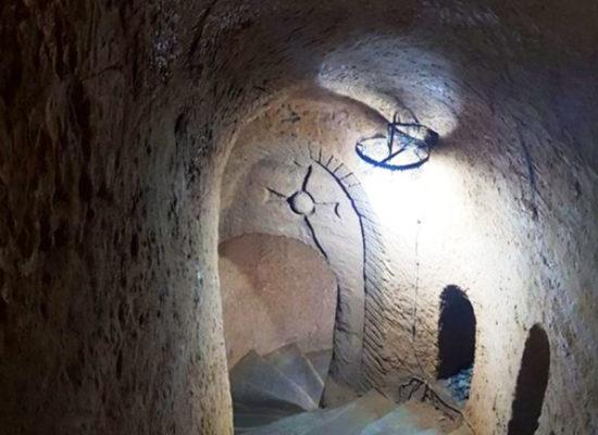 """Master Levon's """"heaven-guided"""" underground maze"""