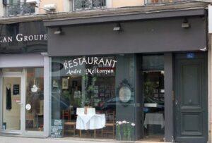 Lyon Restaurant Andre Melkonyan