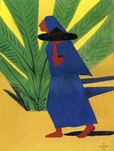 Running Woman, 1911