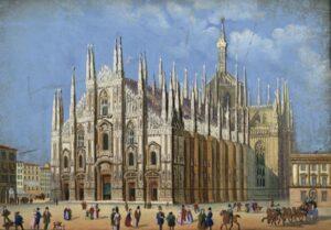 Milan Cathedral, 1956.
