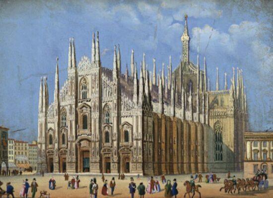 Milan Cathedral, 1956
