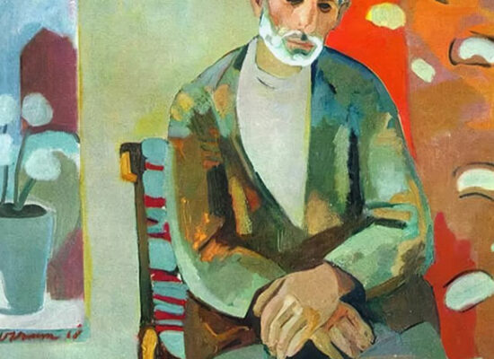 In the compartment, Minas Avetisyan