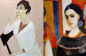 Portrait of the artist's wife, Minas Avetisyan