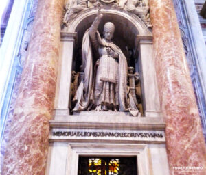 Monument to Pope Leo XII, St. Peter's Basilica, Vatican.