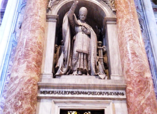 Monument to Pope Leo XII, St. Peter's Basilica, Vatican