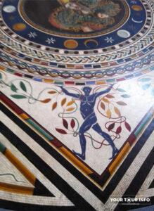 Mosaic floor (fragment), Pio-Clementino Museum.