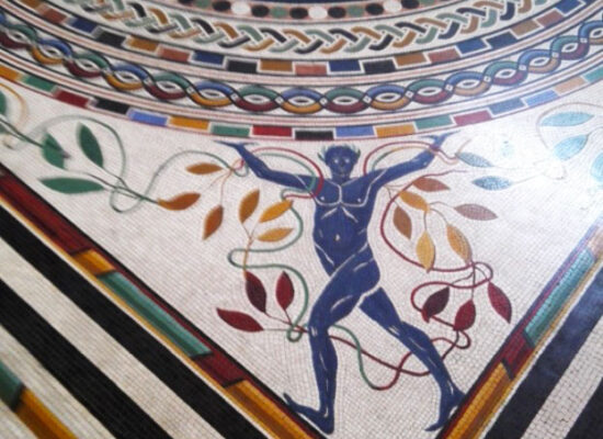 Mosaic floor (fragment), Pio-Clementino Museum
