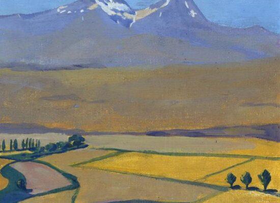 Mount Aragats at Summer, 1922