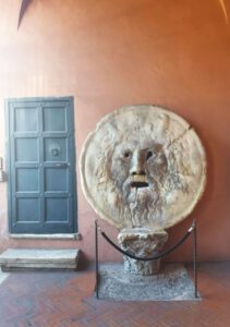 Mouth of Truth, Bocca della Verita, Basilica di Santa Maria in Cosmedin, Piazza della Bocca della Verità, 18.