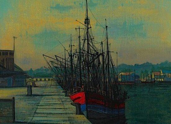 Navires Au Port, 1958