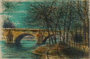 New Bridge in Paris, 1964.