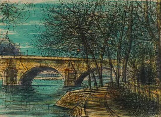 New Bridge in Paris, 1964