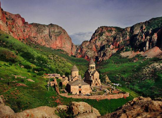 """Noravank, Նորավանք – """"New Monastery"""", Vayots Dzor Province."""