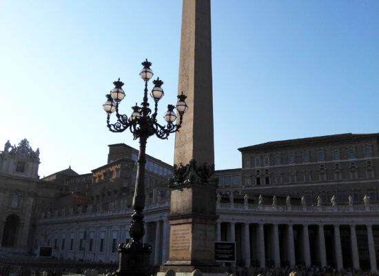 Obelisk, St Peter's Square (Piazza San Pietro).