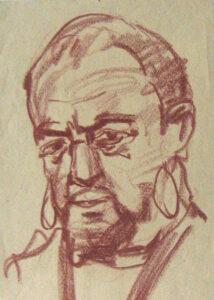 Othello, artist Vahram Papazyan, 1955