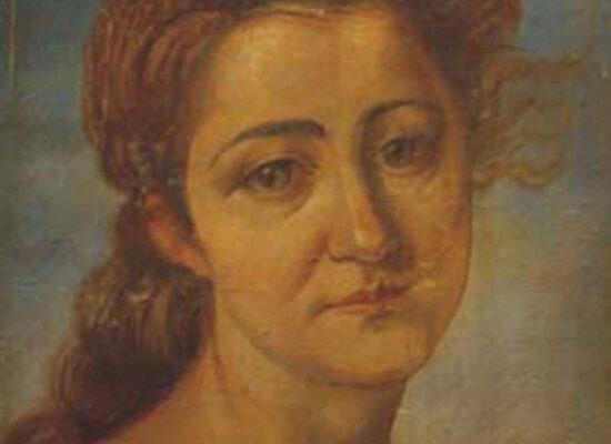 Portrait of a woman, Kochar