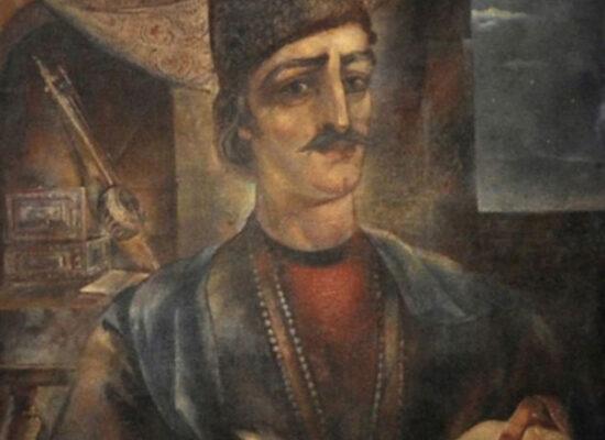 Portrait of Sayat Nova