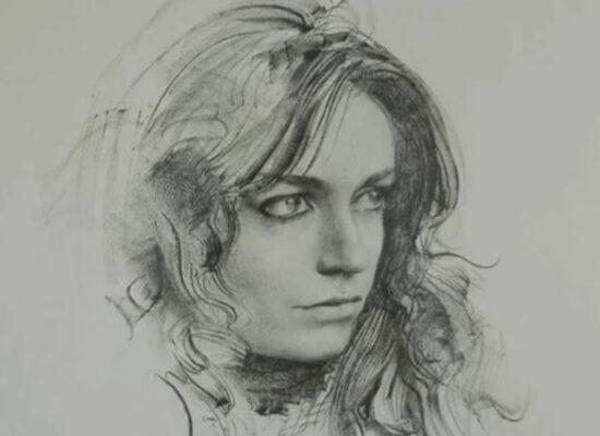 Portrait, Drawing of a Woman, Pietro Annigoni