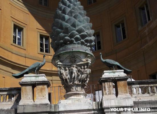 Pigna in Belvedere Courtyard, Vatican