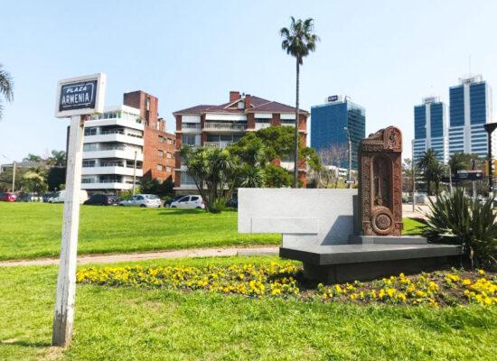 Plaza Armenia, Uruguay, Montevideo