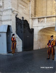 Pontifical Guards, Vatican.