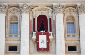 PopeFrancis, St Peters Square, Balcony