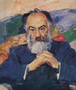 Portrait of Academician Josef Orbeli, 1943.