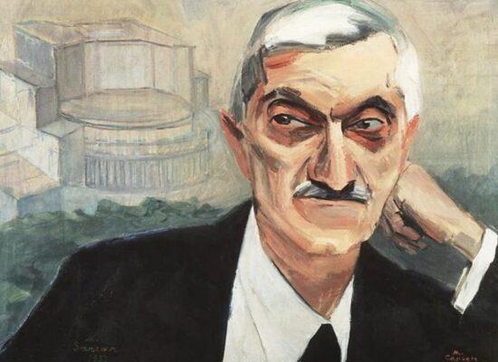Portrait of Alexander Tamanyan, 1933.