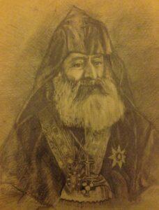 Portrait of Catholicos of All Armenians Khrimyan Hayrik, 1899