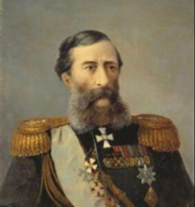 Portrait of Loris-Melikov, 1888. Russian General and Minister.