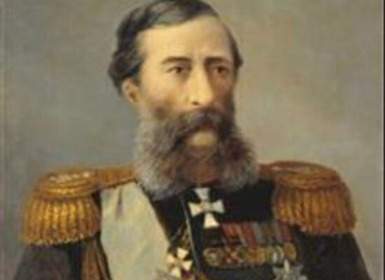 Portrait of Loris-Melikov, 1888, Russian General and Minister