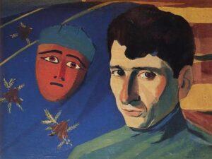Poet Yeghishe Charents,1923