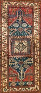 Rare Double Niche Kazak,1880, Armenia