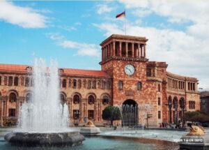 Republic Square, Yerevan.