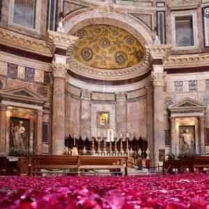 Rain from the Rose Petals, Pantheon, Rome