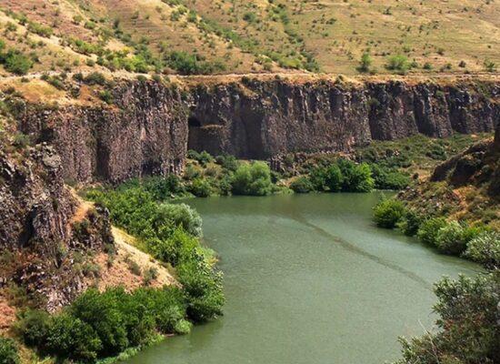 Hrazdan River, 141km, Kotayk Province