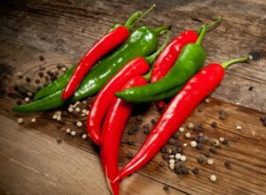 Red& Green Chili Peppers