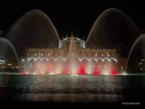 """Dancing Fountains"", Republic Square"