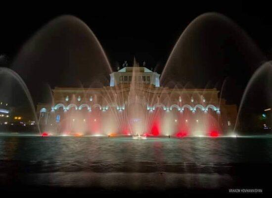 """Dancing Fountains"", Republic Square."