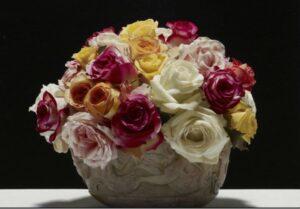 Rose in vaso, Ventrone