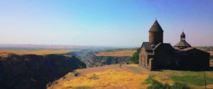 Saghmosavank Monastic Complex, 13th-century, Aragatsotn Province.