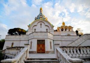 Russian Church of Saint Catherine Martyr. Villa Abamelek.