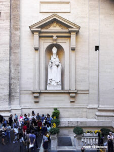 Saint Gregory The Illuminator, prime alcove outside St Peter's Basilica