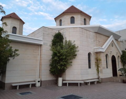 Saint Gregory the Illuminator Armenian Apostolic church in Sharjah.