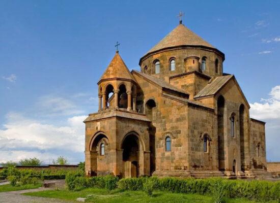 Saint Hripsime Church, Սուրբ Հռիփսիմե եկեղեցի, Vagharshapat, 618