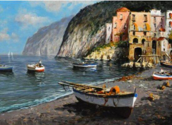 Boats, Seascape, Andrea Marini
