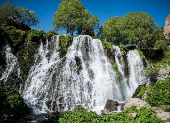Shaki Waterfall, 18 m, Syunik Province