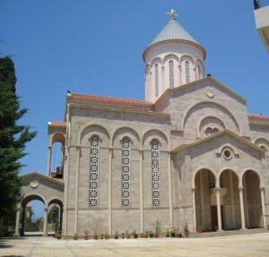 Sourp Nshan Armenian church in downtown Beirut, Lebanon.