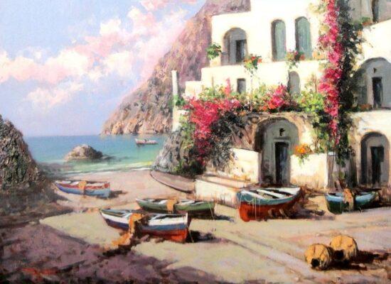South Italian beach house, Pasquale Esposito
