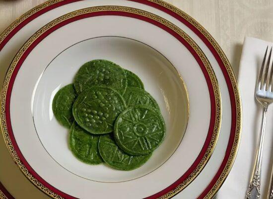 Spinach Corzetti